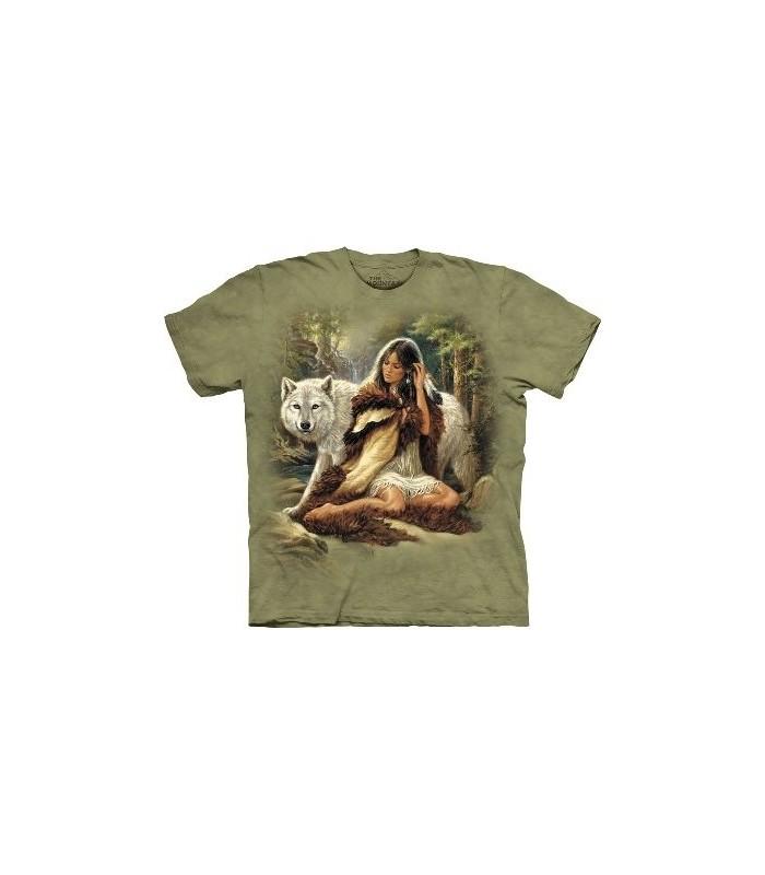 Le Protecteur - T-shirt Loup The Mountain