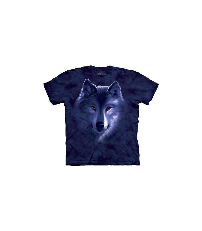 T-shirt Loup bleu par The Mountain