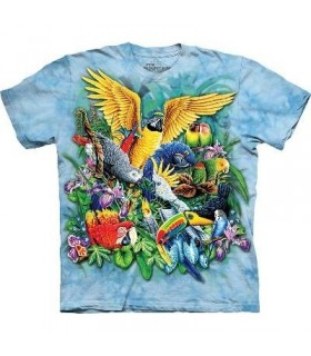 Birds of the Tropics - Big Cats T Shirt by the Mountain