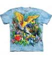 T-Shirt Oiseaux des Tropiques par The Mountain