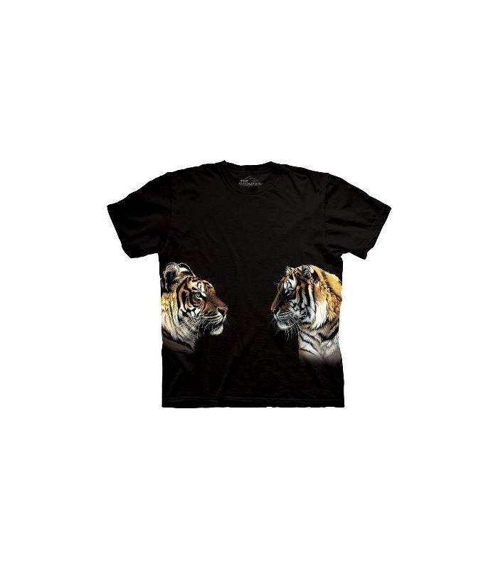 Façe à façe - T-shirt Tigre The Mountain