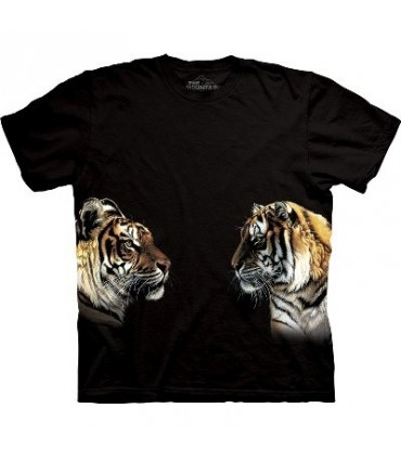 Façe à façe - T-shirt Tigre The Mountain