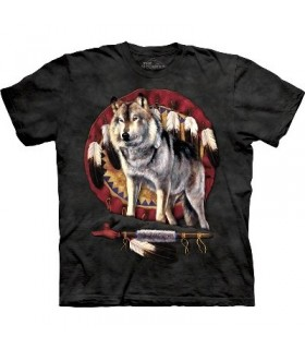 Spirit Wolf - Zoo Animals T Shirt by the Mountain