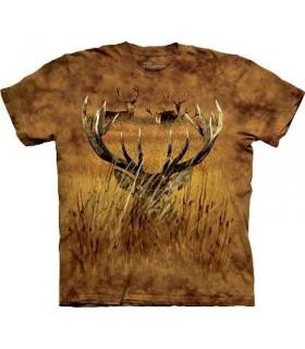Caché ! T-shirt animal The Mountain
