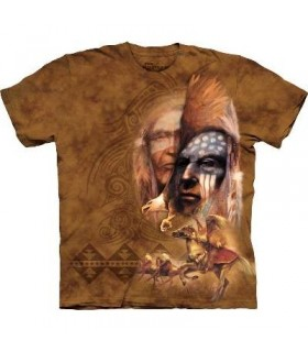 La Légende - T-shirt Indien The Mountain