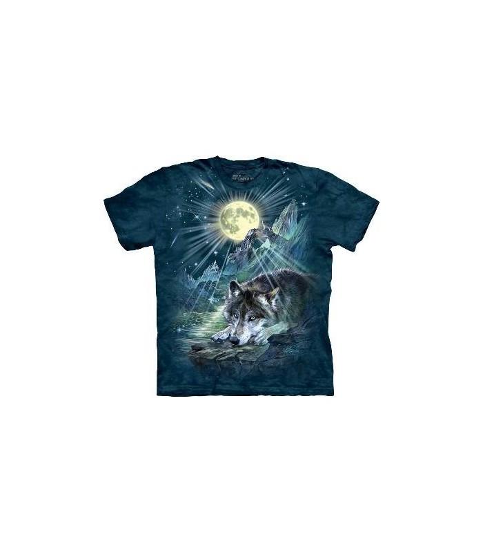 Symphonie nocturne pour Loup - T-shirt animal The Mountain