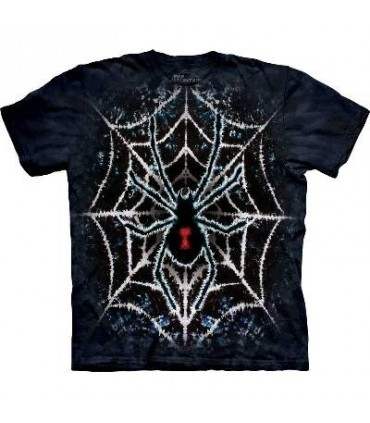 Tie-Dye Spider - T Shirt by the Mountain