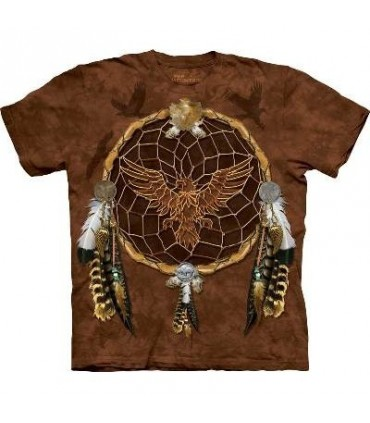 Dreams of the Eagle - Native America T Shirt by the Mountain