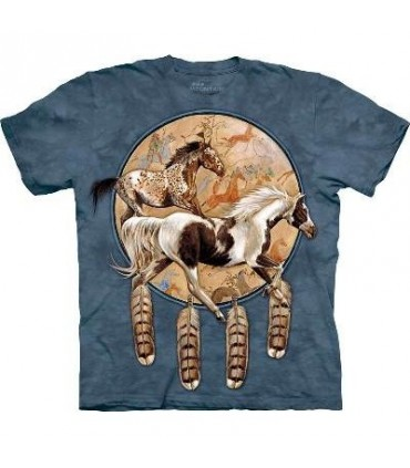 Soquili Shield - Native America T Shirt by the Mountain