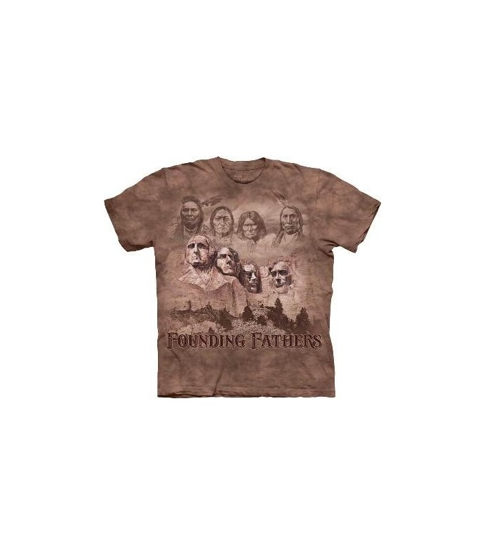 The Founders - Patriotic T Shirt by the Mountain