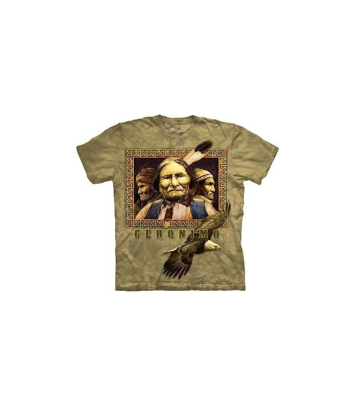 Geronimo - Native American T Shirt by the Mountain