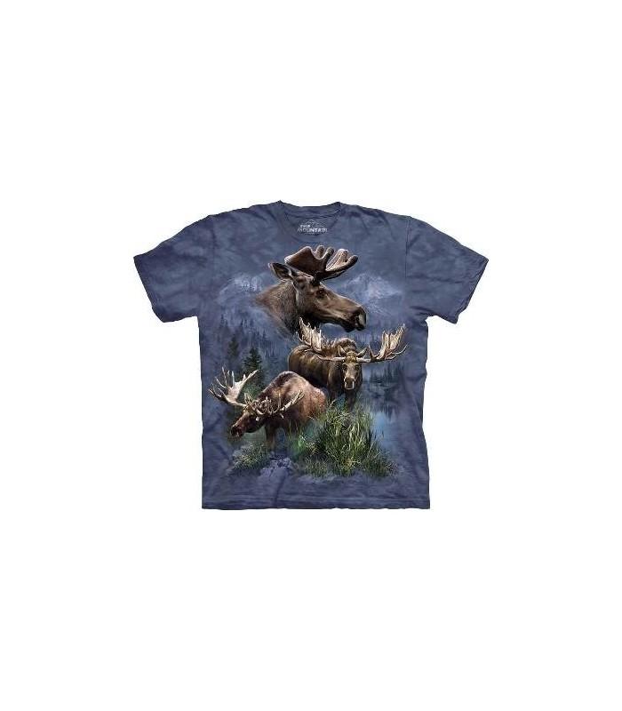T-shirt groupe d'orignaux par The Mountain