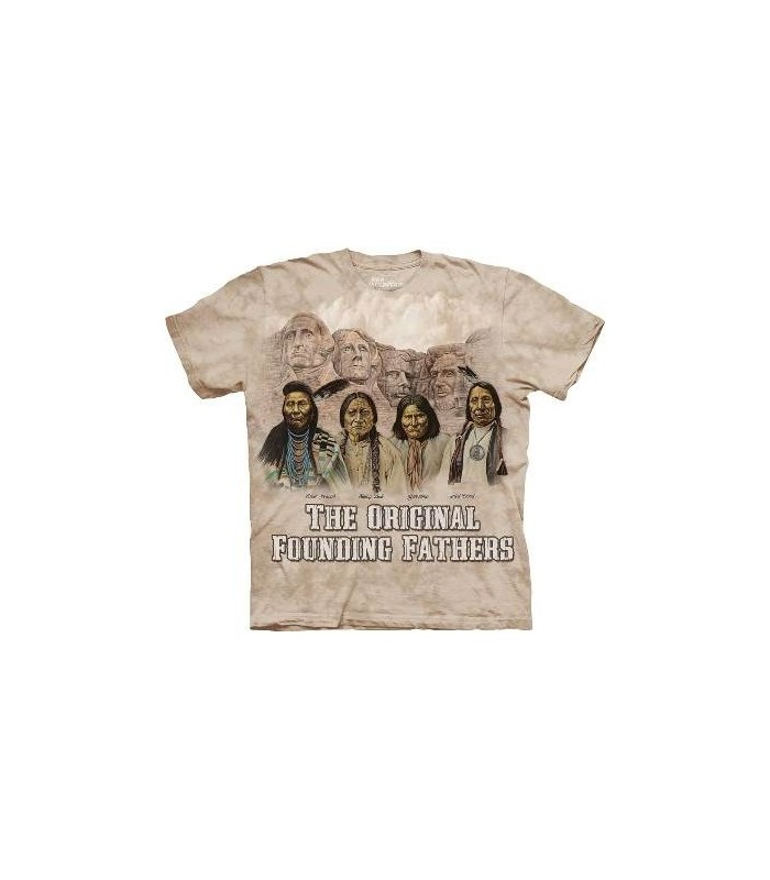 Les Pères fondateurs originaux - T-shirt amérindien The Mountain