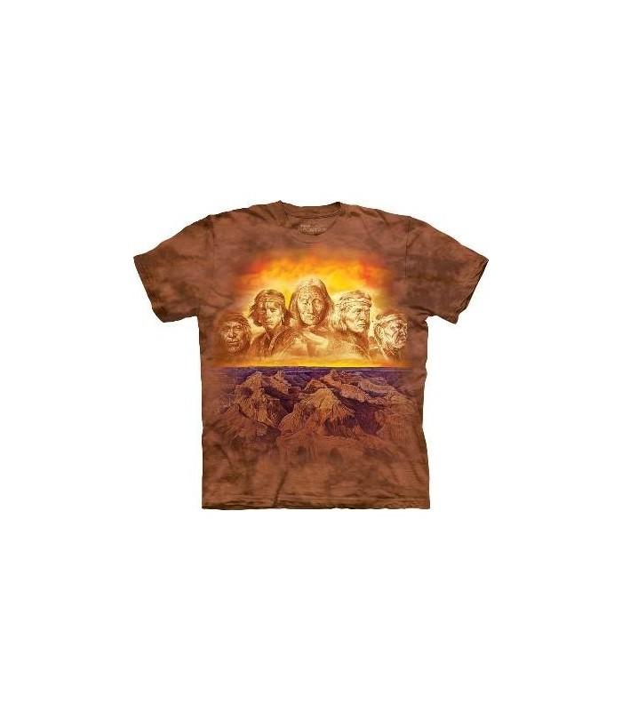 Grands-Pères - T-shirt amérindien The Mountain