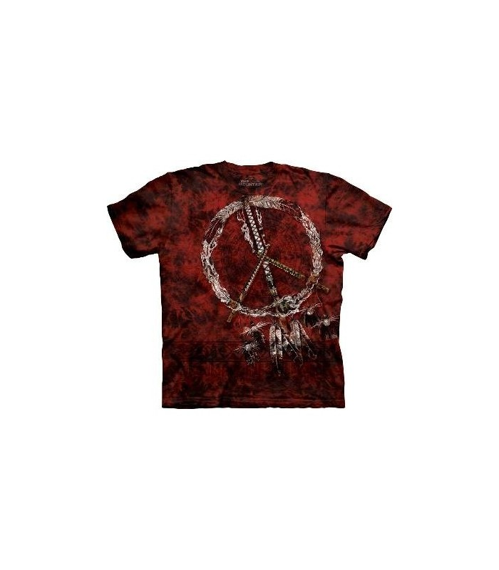 Red Pipes - Indian Shirt The Mountain