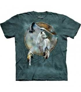 Bouclier Esprit de Loup - T-shirt Animal The Mountain