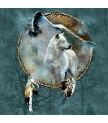 Wolf Spirit Shield - Animal Shirt Mountain