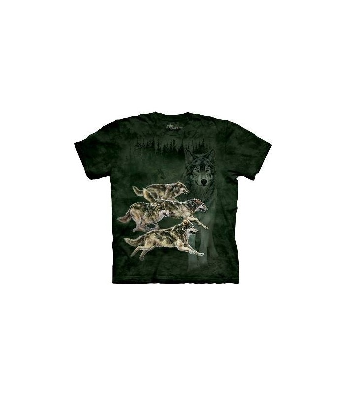 Wolf Runner - Wolf T Shirt by the Mountain