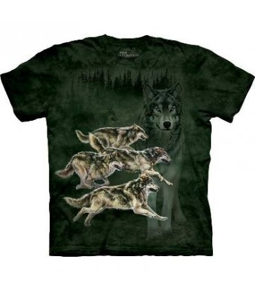 Meute de Loups - T-shirt Loup The Mountain
