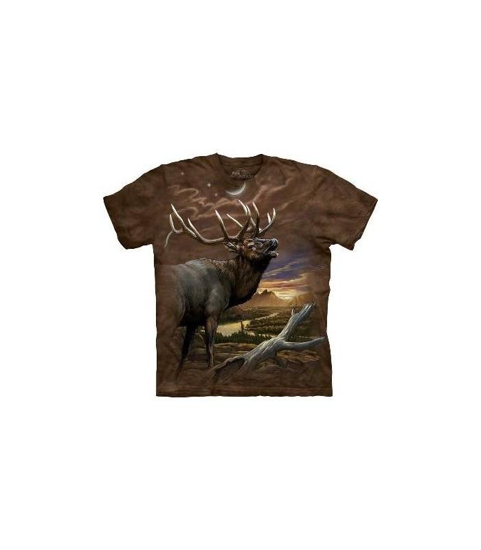 Elan au Crépuscule - T-shirt Animal The Mountain