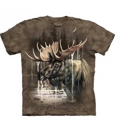 Elan dans la Forêt - T-shirt Animaux The Mountain