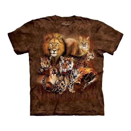 T-Shirt Cat Power par The Mountain