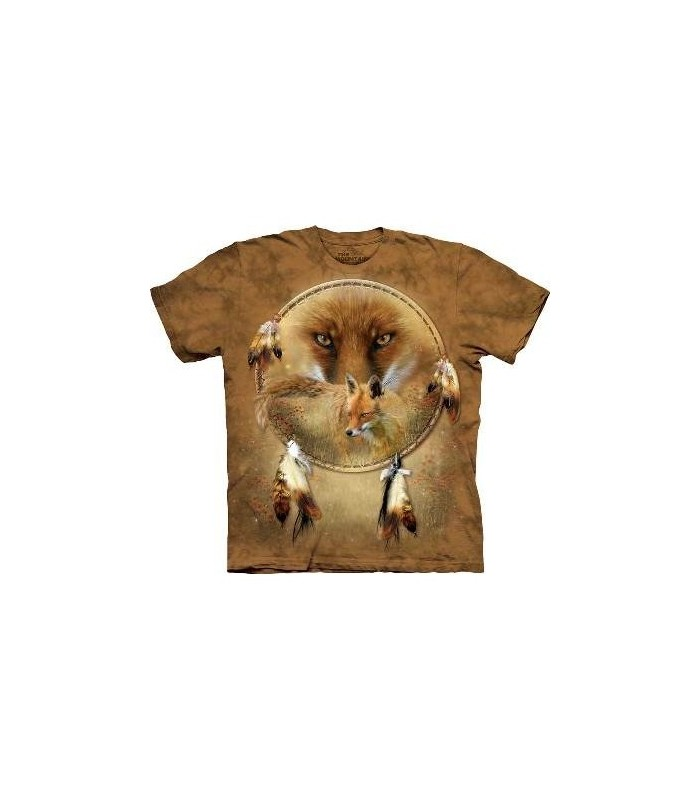 T-shirt attrape-rêve renard - T-shirt amérindien The Mountain
