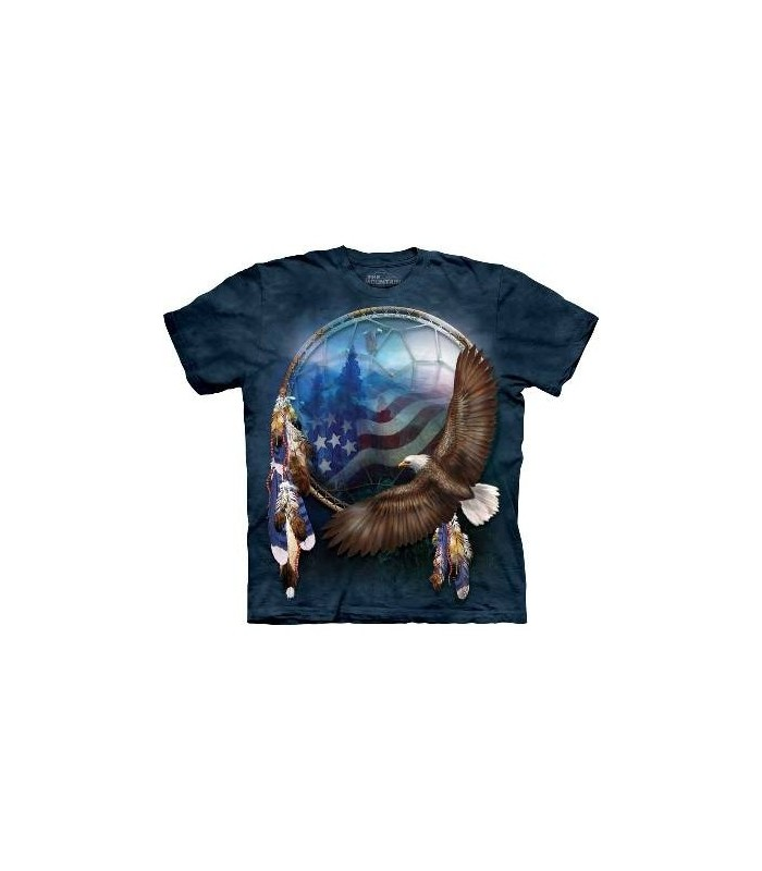 Freedom's Dream - Patriotic T Shirt by the Mountain