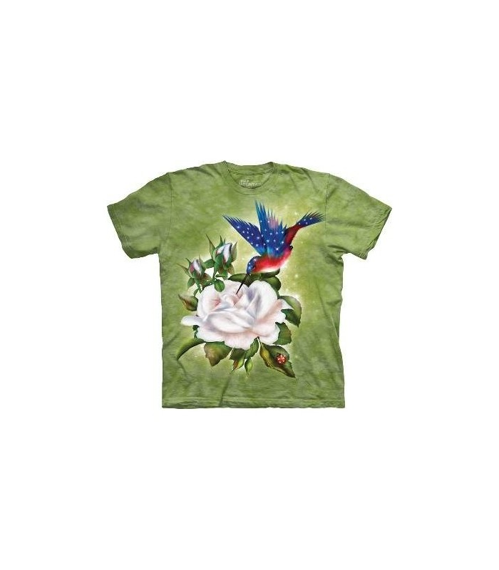 Star Spangled Flight- Birds T Shirt by the Mountain