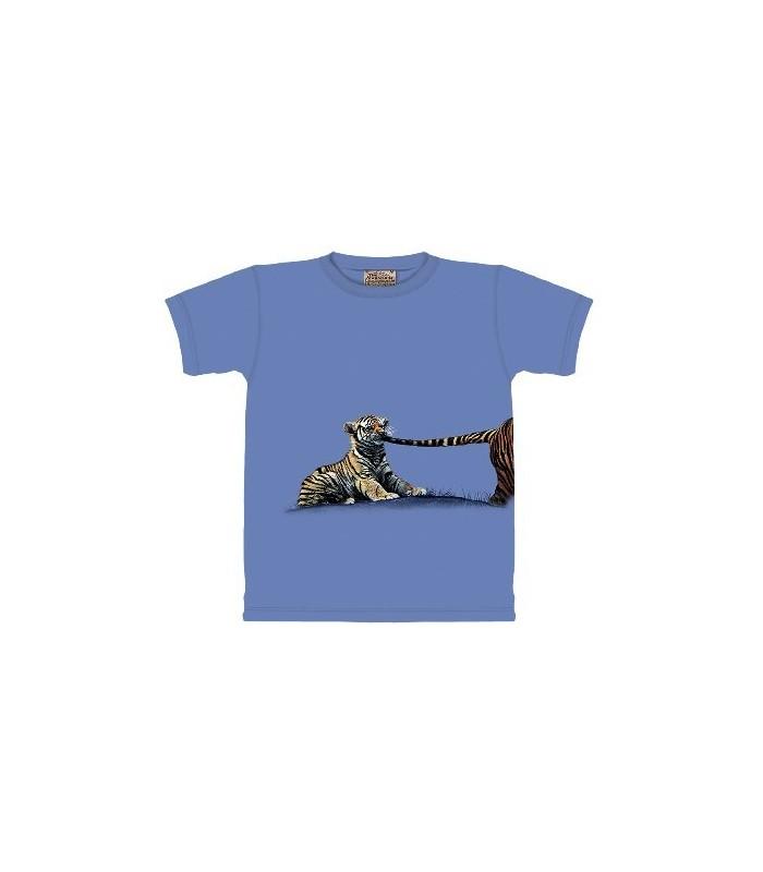 Je te tire par la queue - T-shirt Tigre The Mountain