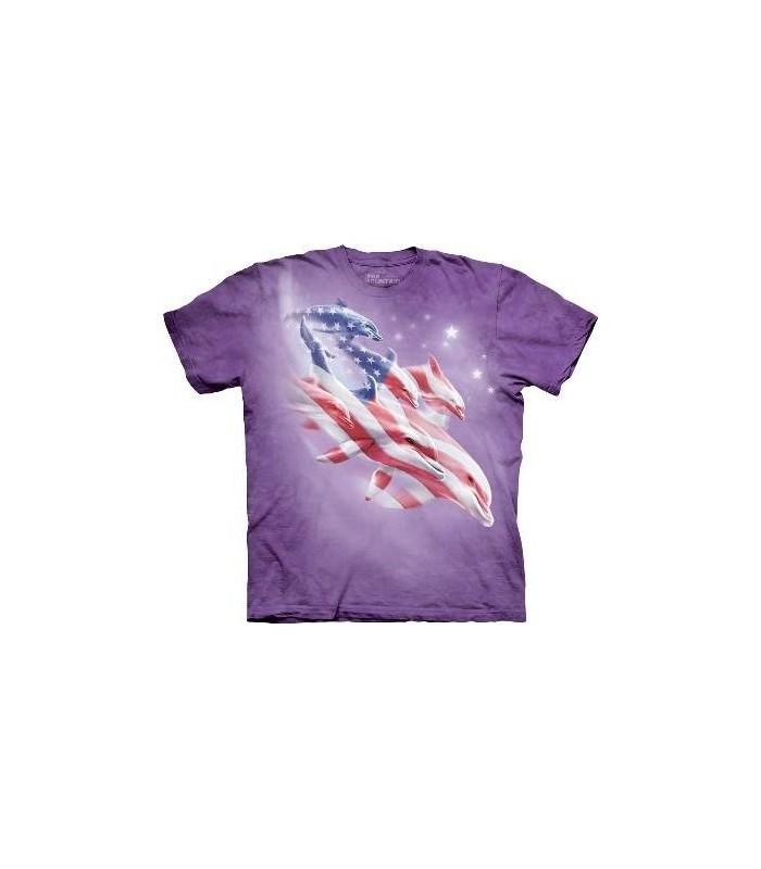 T-shirt Dauphins Patriotiques The Mountain
