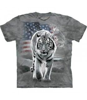 T-shirt Tigre Patriotique The Mountain