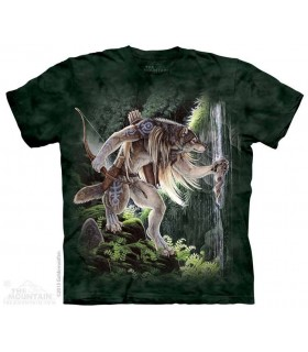 Sacred Waters - Wolf T Shirt The Mountain