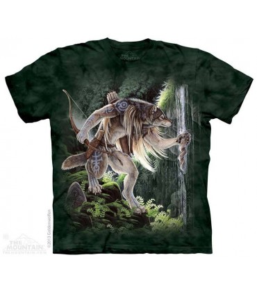 Eaux Sacrées - T-shirt Loup The Mountain
