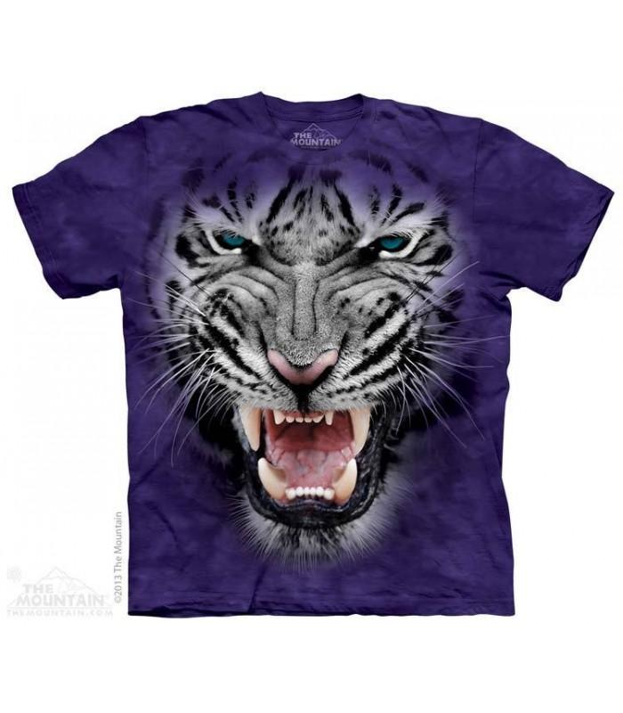 T-Shirt tête de Tigre en colère The Mountain