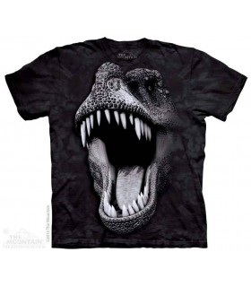 Tête de T-Rex (Glow) - T-shirt dinosaure The Mountain