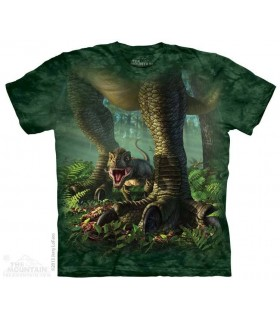 Tout Petit T-Rex - T-shirt Dinosaure The Mountain